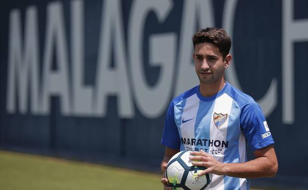 Cecchini, el fichaje más caro de la temporada del Málaga. /Ñito Salas