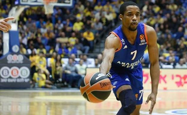 Bryce Cotton, en un partido con el Efes. /Euroleague