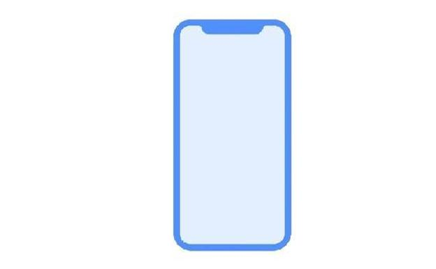 Diseño del iPhone 8.