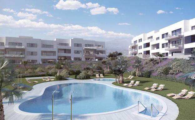 El proyecto contará con dos piscinas, una de adultos y otra infantil para la seguridad de los más pequeños de la casa.