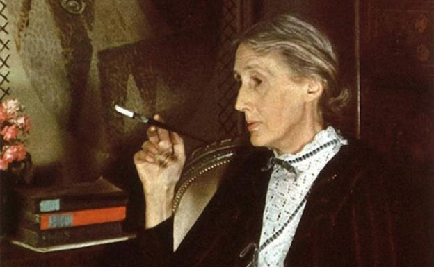 Retrato de la escritora británica Virginia Woolf.