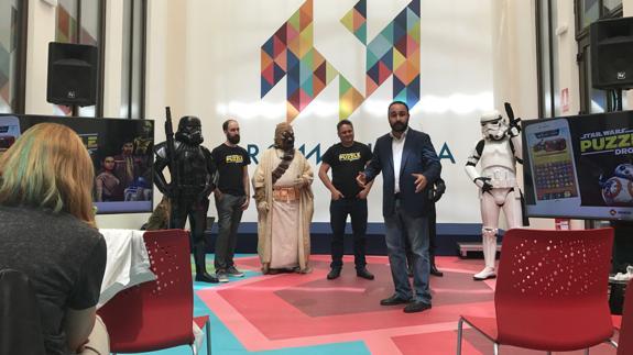 Málaga acoge la presentación mundial del nuevo videojuego de Star Wars