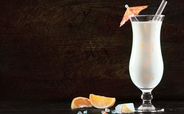 Cocktail de piña colada