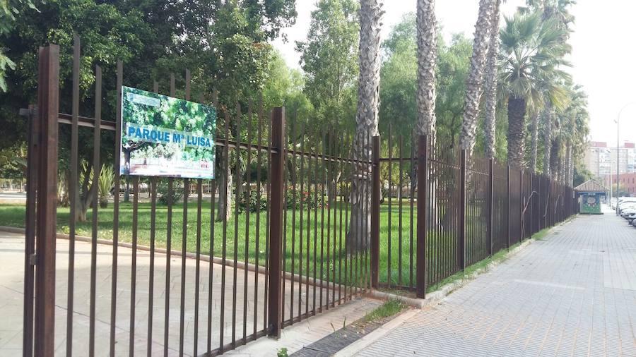 El Parque María Luisa Cerrará Por Las Noches Por Seguridad Diario Sur