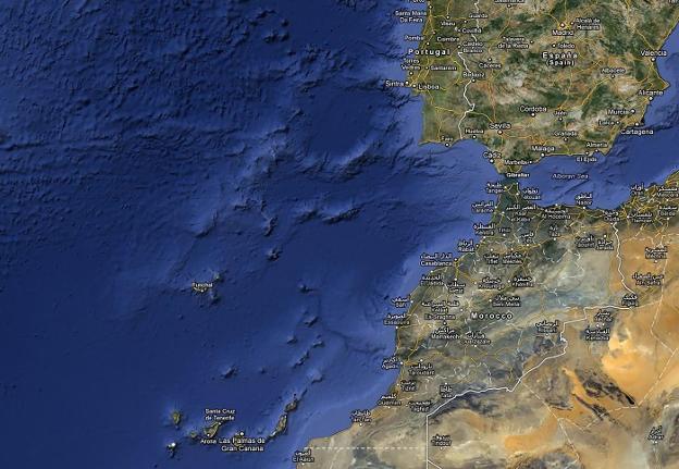 Poner A Canarias En El Mapa Diario Sur