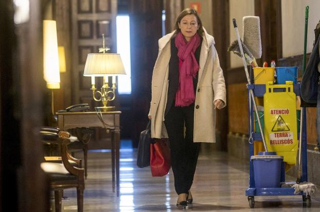 CARME FORCADELL  REGRESA AL PARLAMENT