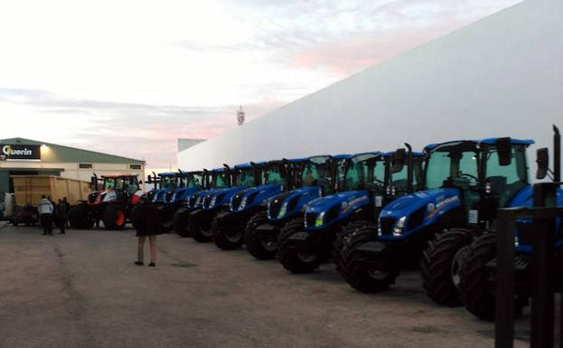 La empresa es distribuidora oficial de New Holland.