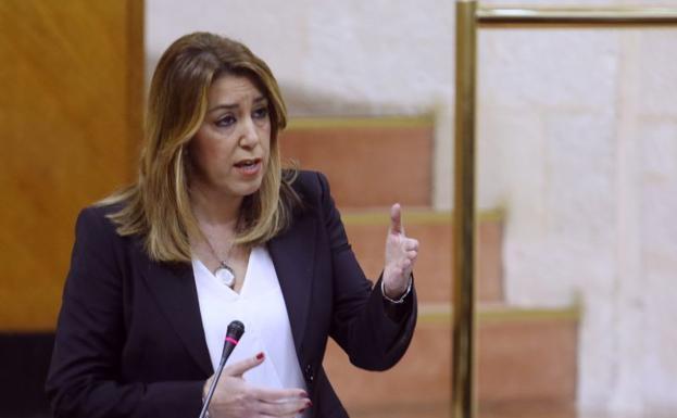 Susana Díaz, en una foto reciente./EP