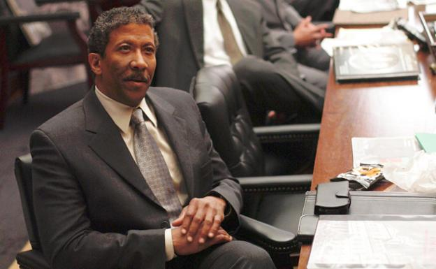 Reg E. Cathey, en 'The Wire'. /