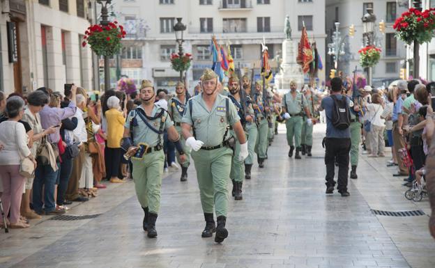 Así ha sido el desfile de La Legión de este domingo en ...