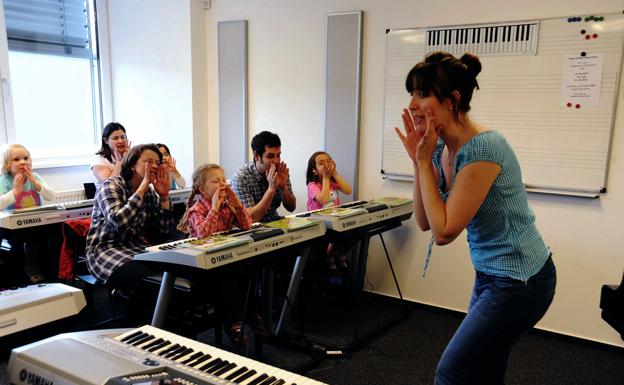 Escuela de m sica organigrama un centro yamaha music for Yamaha music school los angeles