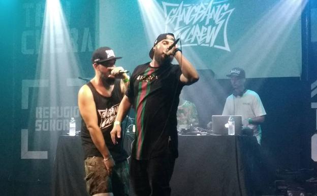 El rap antimilenial de los dioses del underground diario sur for Sala trinchera
