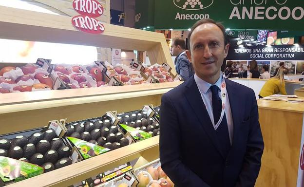 Enrique Colilles, de Trops, en Fruit Attraction/Agustín Peláez