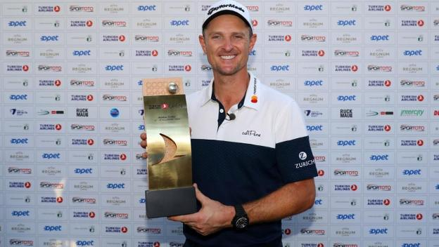 Justin Rose. :: getty /
