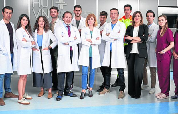 Equipo de 'Hospital Valle Norte'./