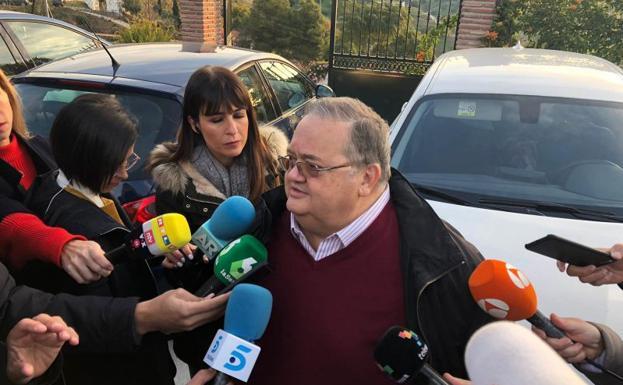 El delegado del Colegio de Minas en Málaga, Juan López Escobar.