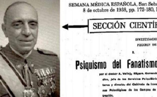 Antonio Vallejo Nágera, padre responsable de diseñar la represión franquista posterior