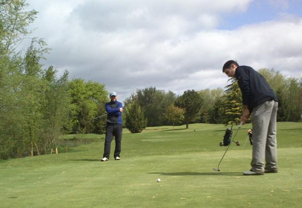 Torneo de 'pitch and putt'.