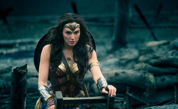 Gal Gadot en 'Wonder Woman'.