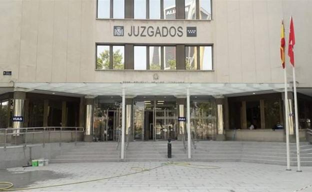 Juzgados de Plaza de Castilla, en Madrid./Europa Press