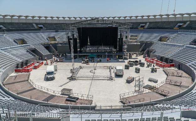 El nuevo auditorio Marbella Arena. /A.Paz