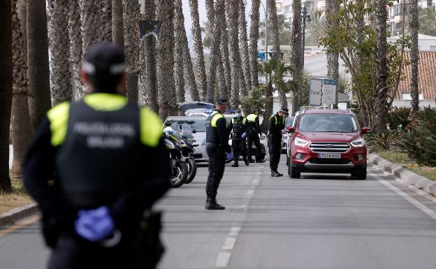 La contaminación cae en Málaga por el descenso del tráfico durante ...