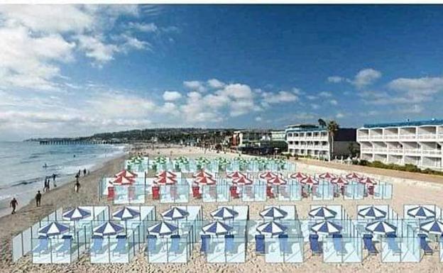 A La Playa Por Turnos Y Con Cita Previa La Nueva Normalidad Del Verano 2020 Diario Sur