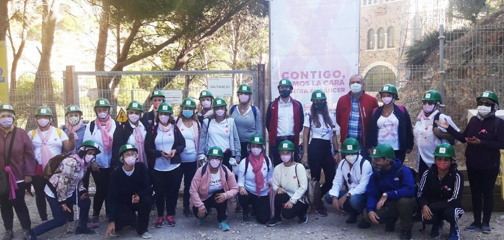 30 mujeres de AECC Málaga recorren el Caminito del Rey con motivo del Día Mundial contra el Cáncer de Mama 2