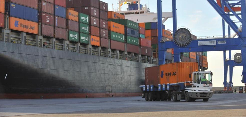 Una nueva línea marítima impulsará el comercio internacional de subtropicales desde Málaga 1