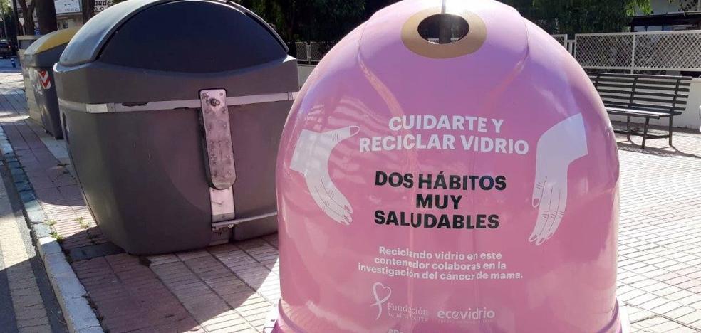 Estepona se une a la campaña de Ecovidrio para apoyar la lucha contra el cáncer de mama 2