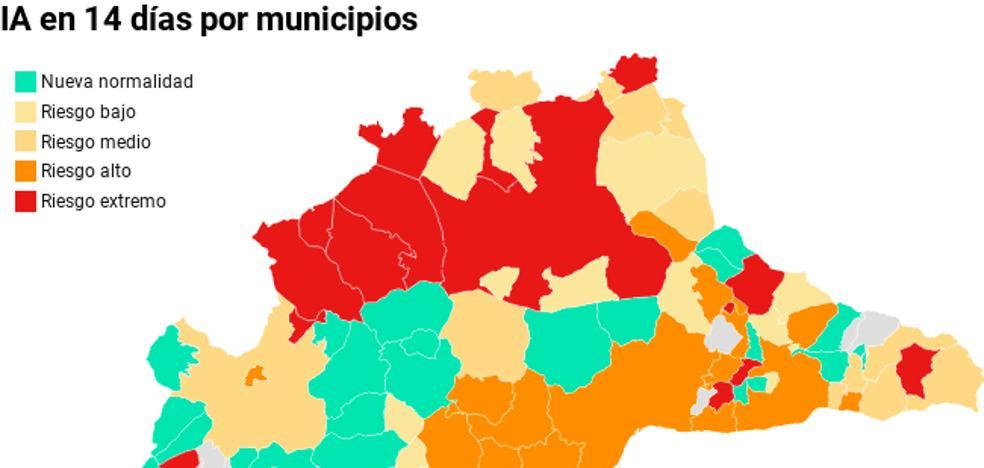 Campillos, Antequera y Marbella, ciudades de más de 5.000 habitantes en mayor riesgo por incidencia acumulada en el nuevo semáforo del Gobierno 2