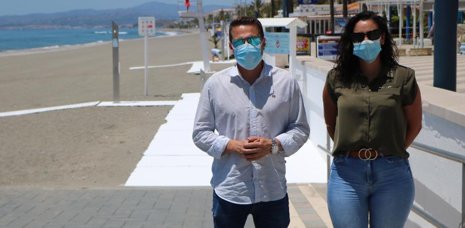 Torrox reduce en un 25% el canon de playas para paliar los efectos de la pandemia 2