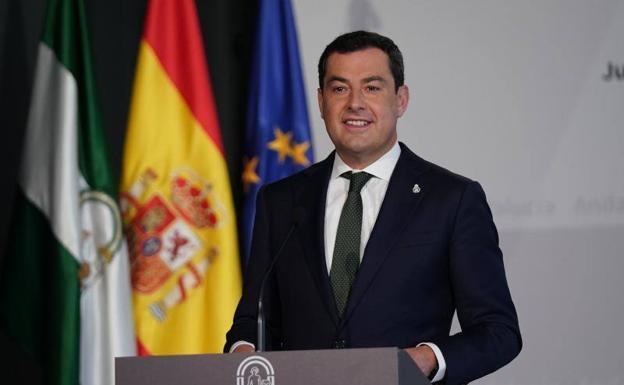La última advertencia de Juanma Moreno sobre el descenso de la incidencia de Covid en Andalucía