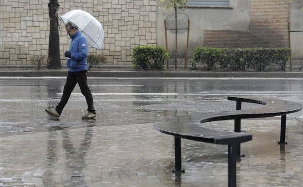 El tiempo en Andalucía: Un temporal traerá lluvia y descenso de temperaturas a partir de este lunes