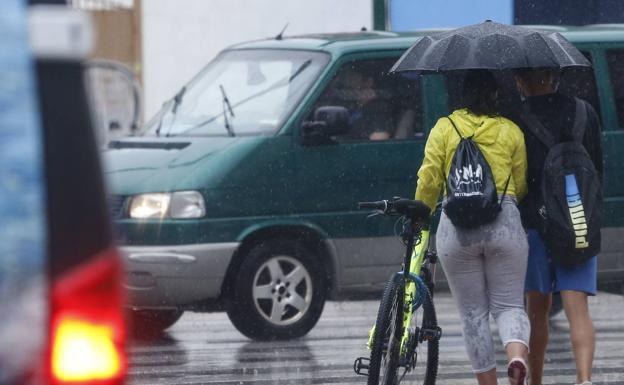 Nuevo cambio de tiempo: la semana que viene la lluvia volverá a Málaga