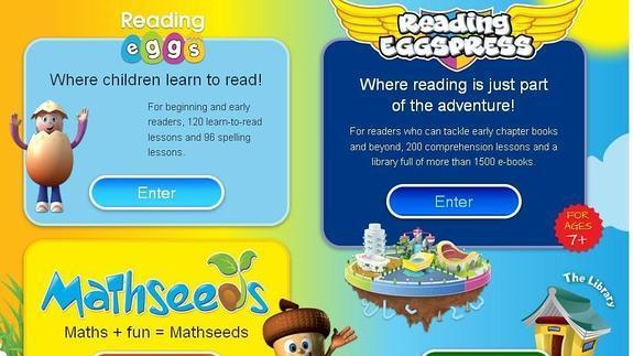 Un cuarto de juegos en Internet para aprender inglés | Diario Sur