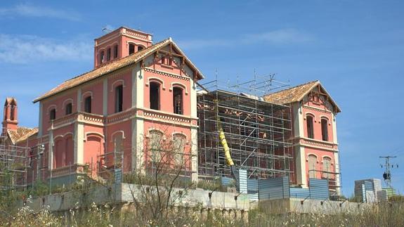 La emblemática hacienda de Campanillas ha sido rehabilitada recientemente. /