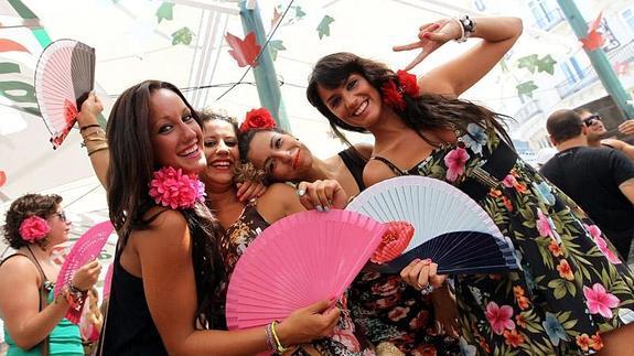 Grupos de solo mujeres en Málaga